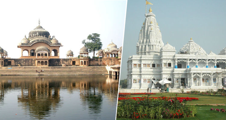 Mathura and Vrindavana