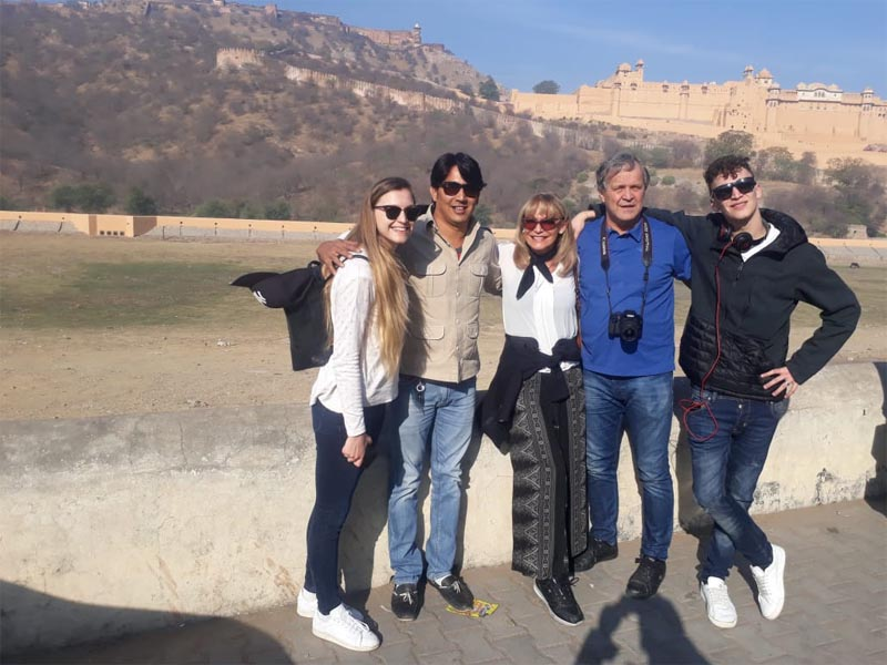 Guests from Italy on Short Trip