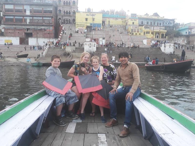 Australia Family on India Trip