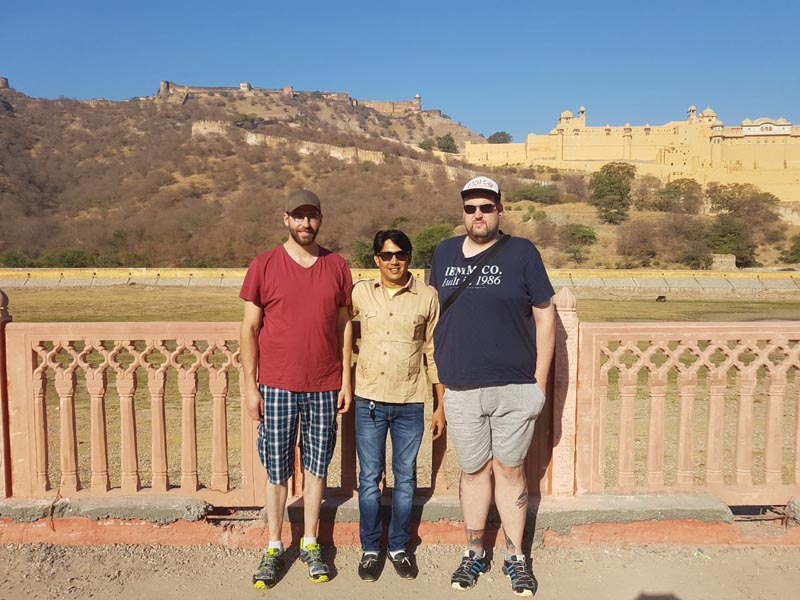 Guests from Italy on Rajasthan Trip