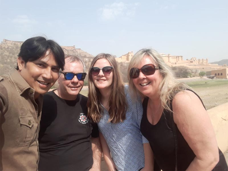 Guests from UK – Golden Triangle