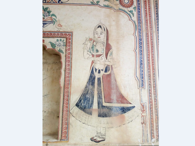 Painting on a Haveli