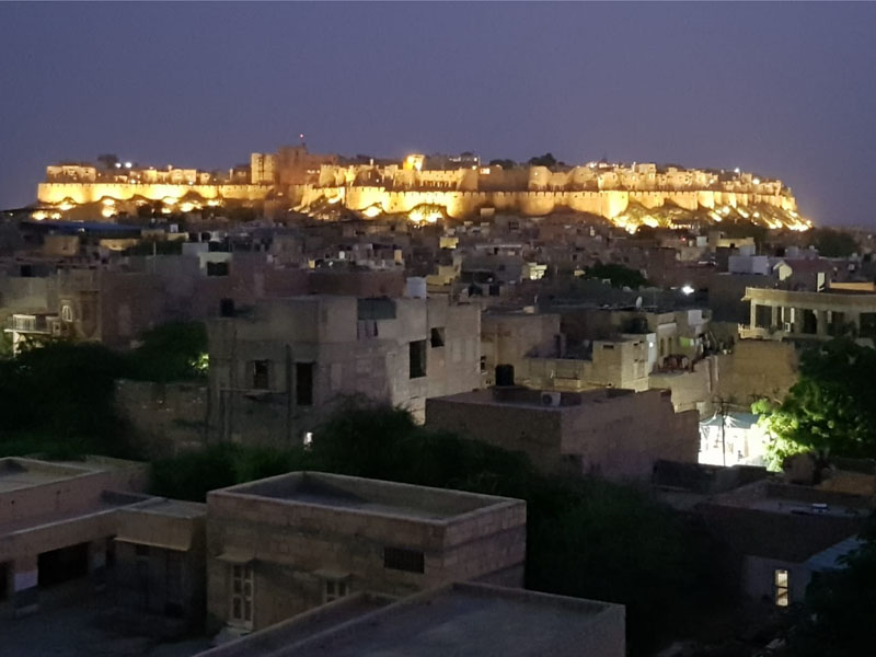 Jaisalmer Fort at Night