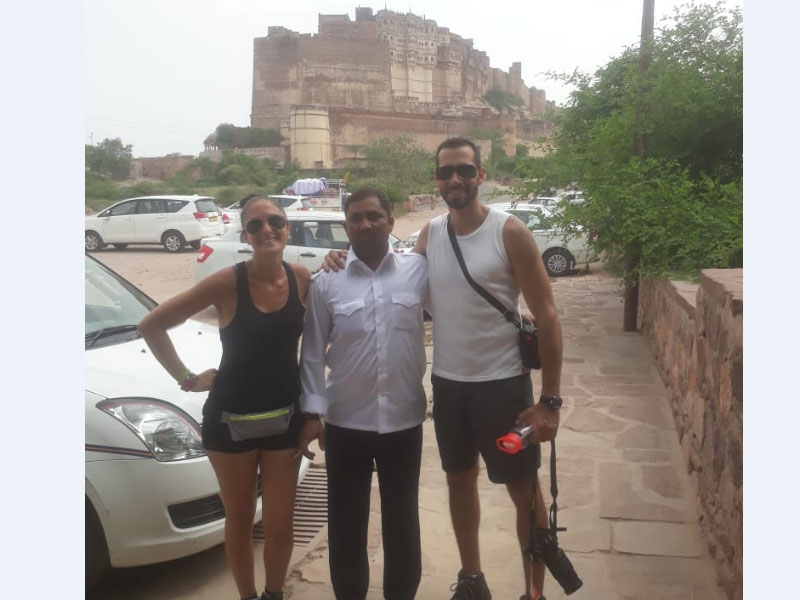 At Mehrangarh Fort