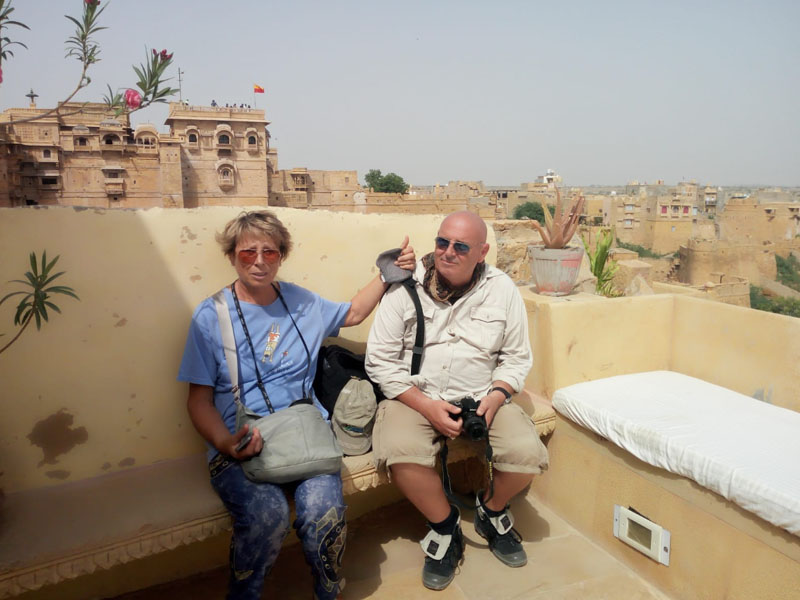 Guests at Jaisalmer