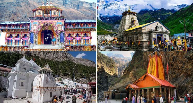 Yamunotri Gangotri Kedarnath Badrinath Haridwar Tour Package