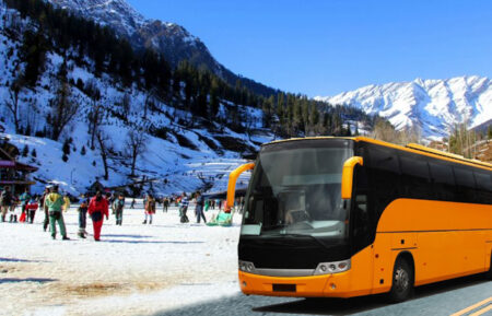 Kullu Manali Luxury Bus Tour