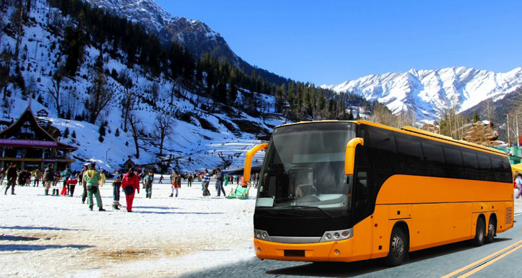 Kullu Manali Luxury Bus Tour